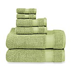 Wamsutta® 6-Piece Hygro® Duet Bath Towel Set in Pear