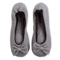 Therapedic® Women's X-Large Ballet Slipper in Grey