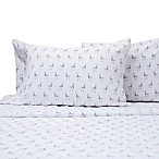 Benzoyl Peroxide-Resistant Llama Standard Pillowcases in White (Set of 2)