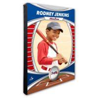 MLB Atlanta Braves I Am The Star Player Personalized Canvas Wall Decor