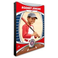 MLB Washington Nationals I Am The Star Player Personalized Canvas Wall Decor