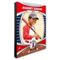 MLB Los Angeles Angels I Am The Star Player Personalized Canvas Wall Decor