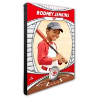 MLB Cincinnati Reds I Am The Star Player Personalized Canvas Wall Decor