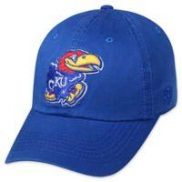 University of Kansas Adjustable Embroidered Crew Cap