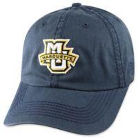 Marquette University Adjustable Embroidered Crew Cap