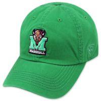 Marshall University Adjustable Embroidered Crew Cap