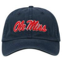 University of Mississippi Adjustable Embroidered Crew Cap