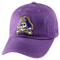 East Carolina University Adjustable Embroidered Crew Cap