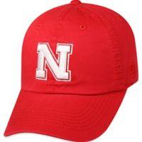 University of Nebraska Adjustable Embroidered Crew Cap