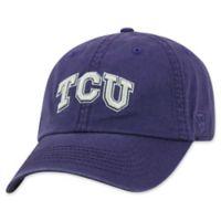 Texas Christian University Horned Frogs Adjustable Crew Hat