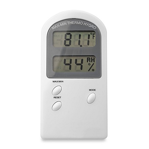 Holmes® Digital Thermometer/ Hygrometer