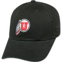 University of Utah Utes Adjustable Crew Hat in Black