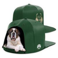 NBA Milwaukee Buck NAP CAP Large Pet Bed