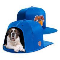 NBA New York Knicks NAP CAP Large Pet Bed