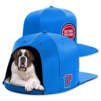 NBA Detroit Pistons NAP CAP Large Pet Bed