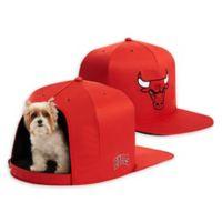 NBA Chicago Bulls NAP CAP Small Pet Bed