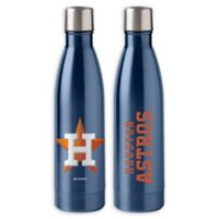 MLB Houston Astros 18 oz. Stainless Steel Water Bottle