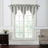 Waterford® Gwyneth Ascot Window Valance in Pale Blue