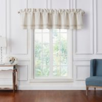 Waterford® Lancaster Window Valance in Sand
