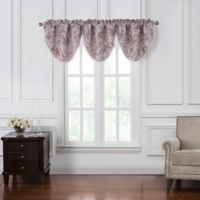 Waterford® Victoria Cascade Window Valance in Orchid