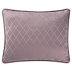 Waterford® Victoria Diamond Oblong Throw Pillow in Orchid