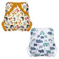 Tidy Tots® 12-Piece Hippo Diaper and Diaper Cover Essential Set