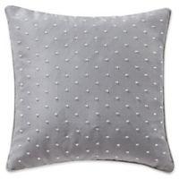 Waterford® Farrah Beaded Square Throw Pillow in Aqua
