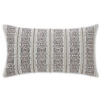 Waterford® Celine 11-Inch x 20-Inch Throw Pillow in Ivory