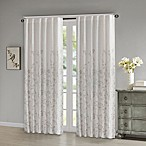 Madison Park Tunisia 84-Inch Window Curtain Panel in White