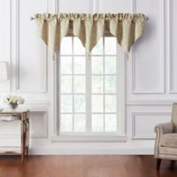 Waterford® Annalise Ascot Window Valance in Gold