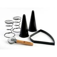 Pizzacraft™ 6-Piece Pizza Cone Set