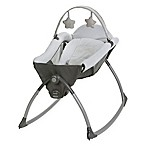 Graco® Little Lounger™ Rocking + Vibrating Swing in Grey