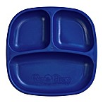 Re-play 7-Inch Toddler Divided Plate in Navy