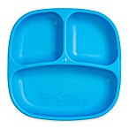 Re-play 7-Inch Toddler Divided Plate in Blue