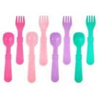 re-play 8-Pack Colorful Utensils for Girls
