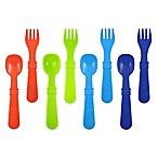 re-play 8-Pack Colorful Utensils for Boys