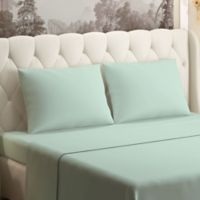 Brielle 630-Thread-Count 100% Cotton Sateen Full Sheet Set in Sage