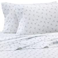 Hidden Retreat Lake & Lodge New Oars King Pillowcase in Grey