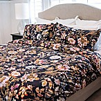 Granpallazzo By Vesper Lane Bellio Reversible King Duvet Cover Set in Blue