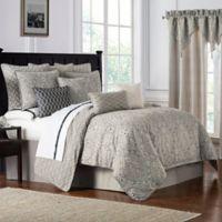 Waterford® Bainbridge Reversible California King Comforter Set in Linen
