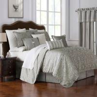 Waterford® Celine Reversible California King Comforter Set in Dove