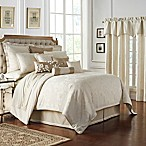 Waterford® Sydney Reversible Queen Comforter Set in Linen