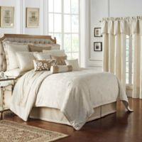 Waterford® Sydney Reversible King Comforter Set in Linen