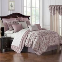 Waterford® Victoria California King Comforter Set in Orchid