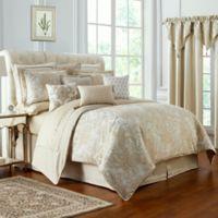 Waterford® Annalise Reversible California King Comforter Set in Gold