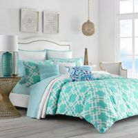 Trina Turk® Avalon King Duvet Cover Set in Turquoise/Aqua