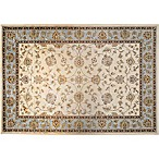 Verona Classic 8-Foot x 11-Foot Rug in Ivory/Blue