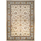 Verona Classic 5-Foot 3-Inch  x 7-Foot 7-Inch Rug in Ivory/Blue