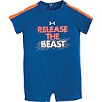Under Armour® Size 0-3M Release the Beast Shortall in Blue