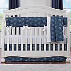Liz and Roo Elephant 3-Piece Crib Bedding Set in Navy